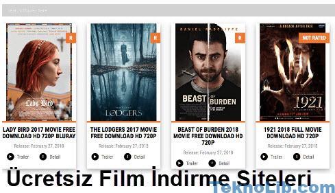 En Iyi ücretsiz Film Indirme Siteleri 2018