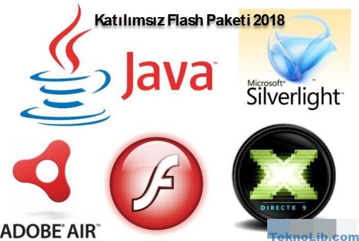 Flash Paketi 2019 Temmuz Katılımsız 32×64 Bit Full