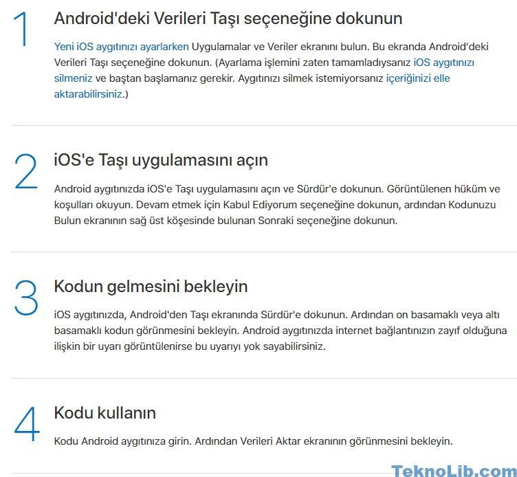 Android' den iPhone müzik gönderme