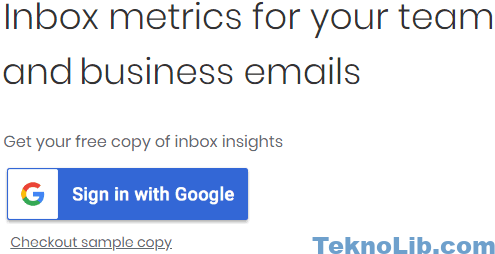 inbox grader sign in with google