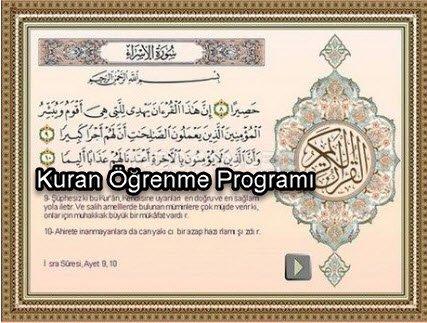 Kuran Öğrenme Programı
