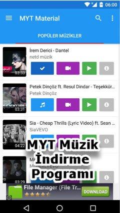 MYT Müzik İndirme Programı