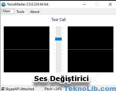 voicemaster ses değiştirme programı