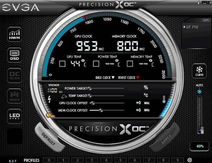 EVGA Precision XOC amd ekran kartı hız aşırtma overclock