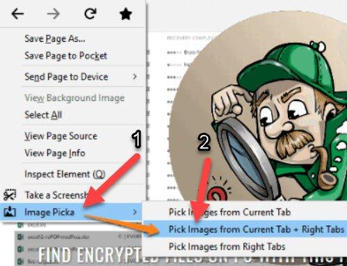 Firefox Açık Sekmelerdeki Tüm Resimleri İndirme2