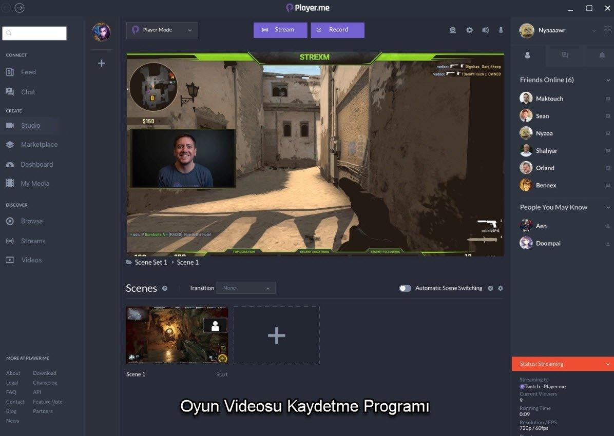 Oyun Videosu Kaydetme Programı