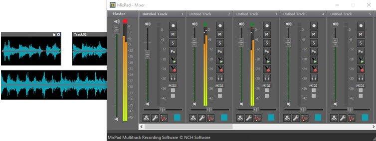 Ses Karıştırma Programı mixer
