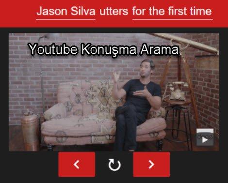 Youtube Konuşma Arama