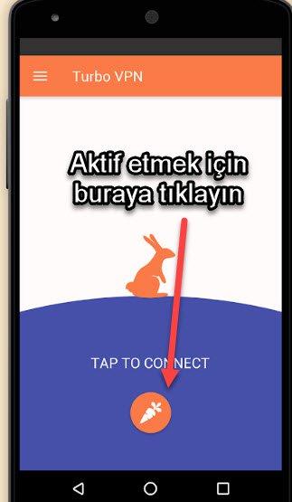 android yasaklı sitelere girme uygulaması
