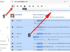 gmail bir kişiden gelem e-postaları toplu silme