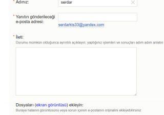 Yandex Hesabıma Mail Gelmiyor