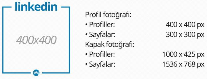 linkedin fotoğraf boyutları