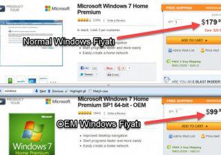 oem ve perakende Windows arasındaki fark