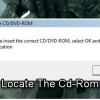 Cannot Locate The Cd-Rom Hatası