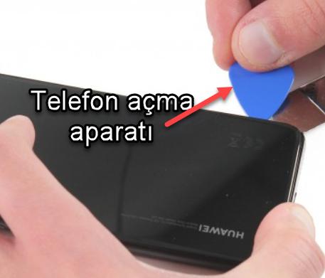 Huawei P20 ekranı değiştirme