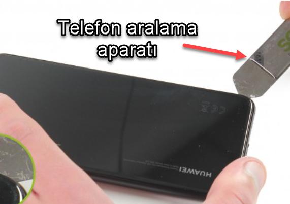 Huawei P20 ekran nasıl değiştirilir?