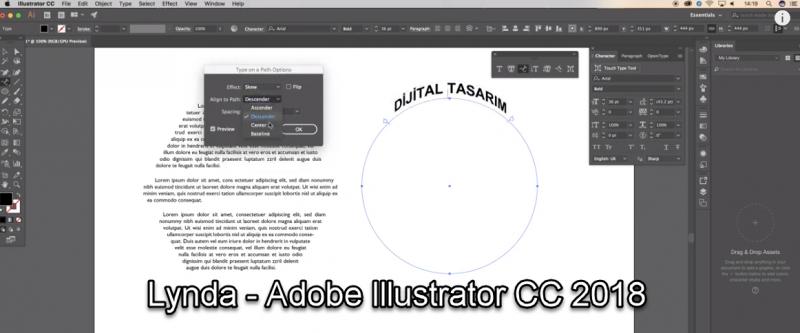 Lynda - Adobe Illustrator CC 2018
