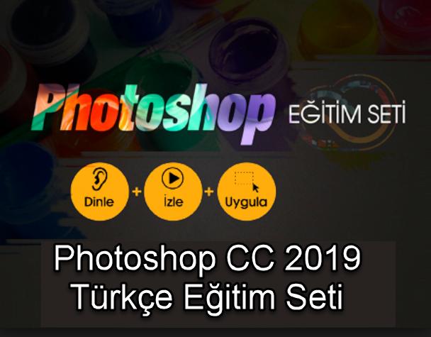 Photoshop CC 2019 Türkçe Eğitim Seti