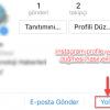 instagram profile yol tarifi düğmesi nasıl eklenir?