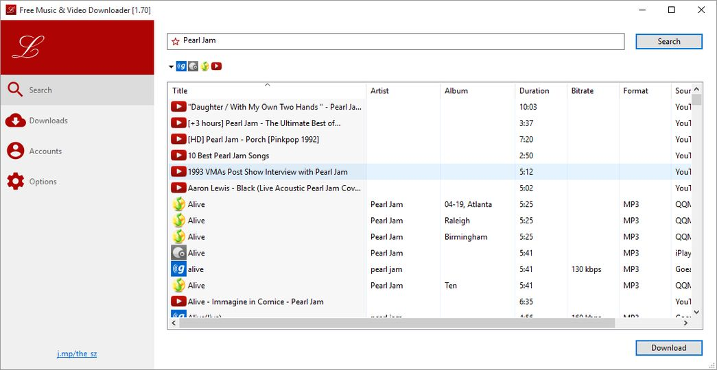 Free Music & Video Downloader ile ilgili görsel sonucu