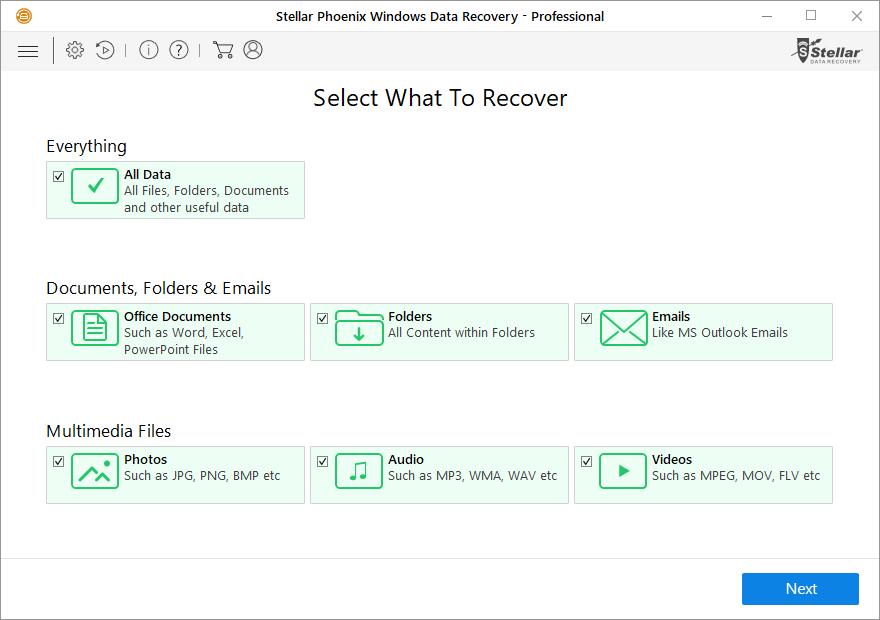 Stellar Phoenix - Best Data Recovery Software