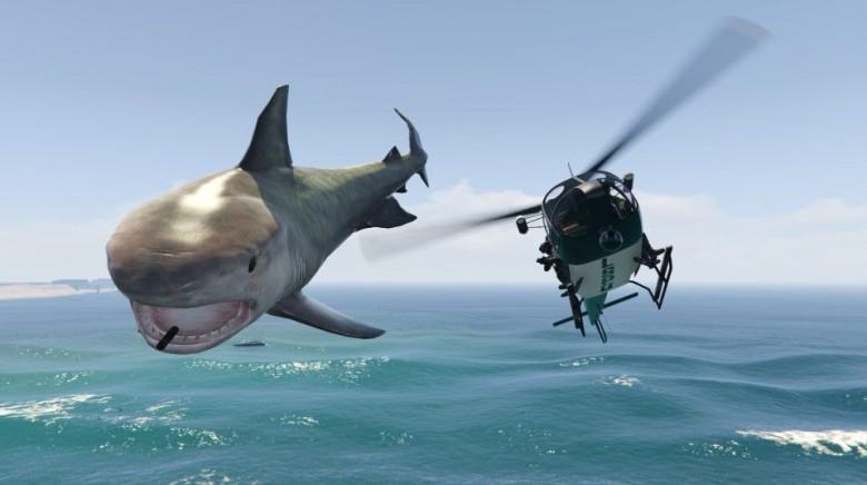 GTA 5 Köpekbalığı Modu