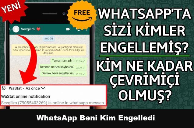 WhatsApp Beni Kim Engelledi